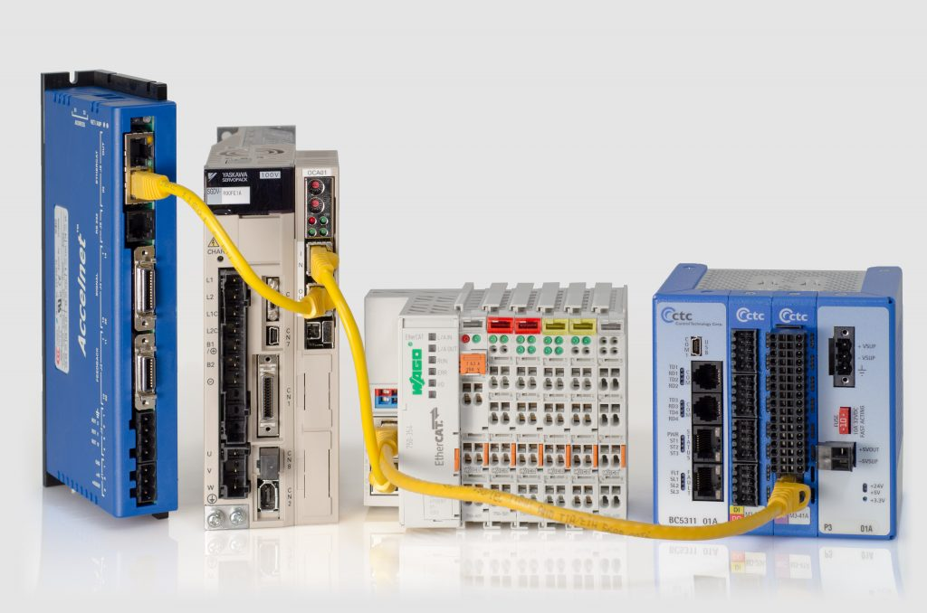 Programmable Automation Controller with EtherCAT Master Controller