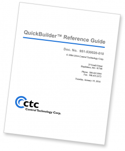 QuickBuilder Reference Guide